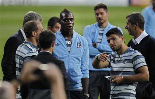 Sergio &#039;Kun&quot; Aguero, Mario Balotelli 