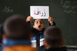 Mideast Jordan Syrian Refugees Chasing Education