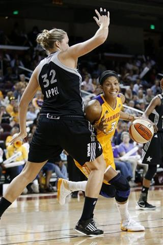 Candace Parker, Jayne Appel