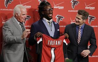 Mike Smith, Desmond Trufant, Thomas Dimitroff