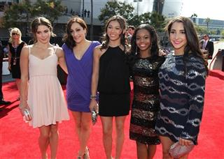 McKayla Maroney, Jordyn Wieber, Kyla Ross, Gabrielle Douglas, Alexandra Raisman