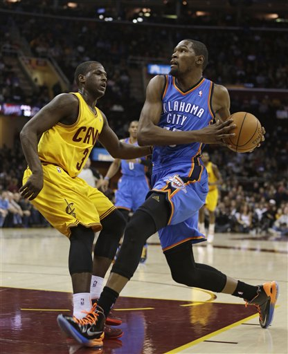 Kevin Durant, Dion Waiters