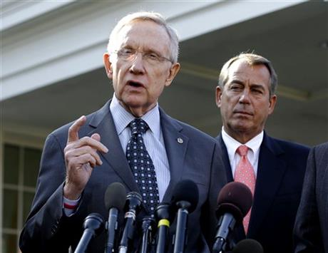 John Boehner, Harry Reid