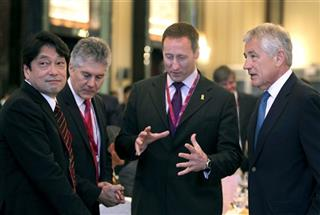 Itsunori Onodera, Stephen Smith, Peter Gordon MacKay, Chuck Hagel