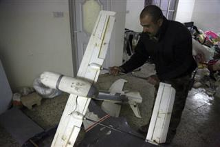 Iraq Islamic State-Drone Tactics