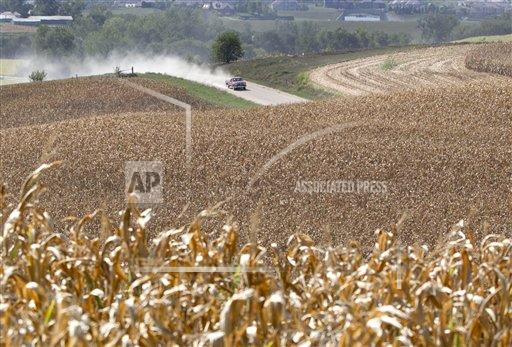 US Drought Severity