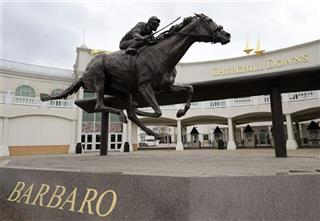 Churchill Downs, Barbaro Statue
