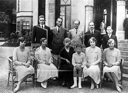 AP I SPAIN SPANISH ROYAL FAMILY 1927