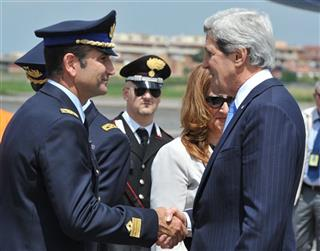 Italy US Kerry