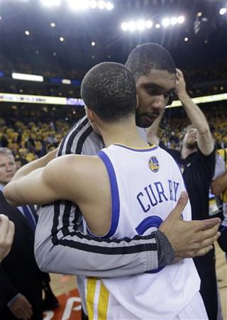 Tim Duncan, Stephen Curry