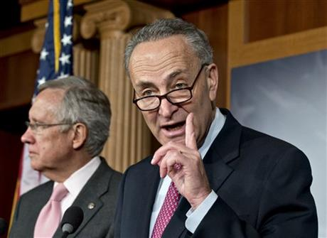 Harry Reid, Charles Schumer