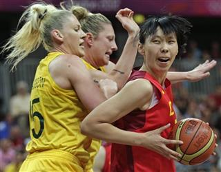 Chen Nan, Lauren Jackson, Suzy Batkovic