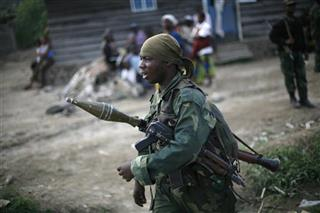 Congo Rebel Fighting