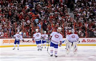 Canadiens Senators Hockey