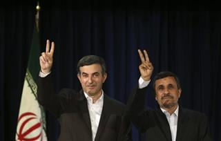 Mahmoud Ahmadinejad Esfandiar Rahim Mashaei