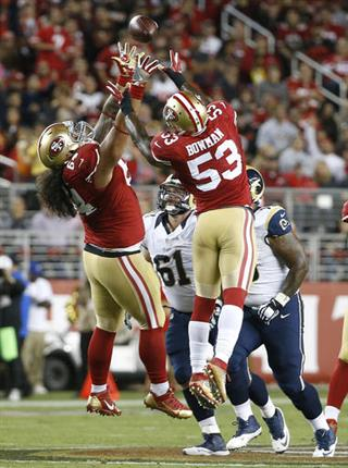 NaVorro Bowman, Mike Purcell
