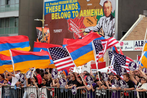Los Angeles marches, rallies commemorate Armenian killings