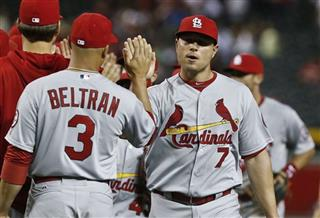 Matt Holliday, Carlos Beltran