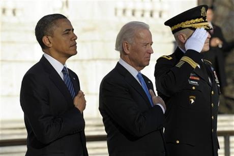Barack Obama, Joe Biden, Michael S. Linnington