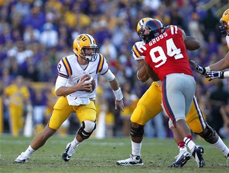 Zach Mettenberger, Issac Gross