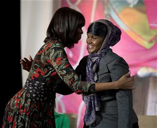 Fartuun Adan, Michelle Obama,