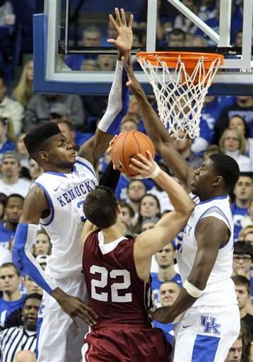 Alan Flannigan, Nerlens Noel, Alex Poythress
