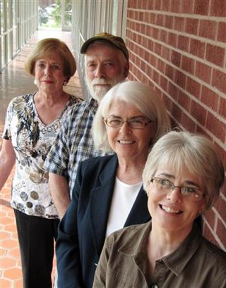 Joan Risley, Roger Risley, Chris Wagner, Prudence Hopkins