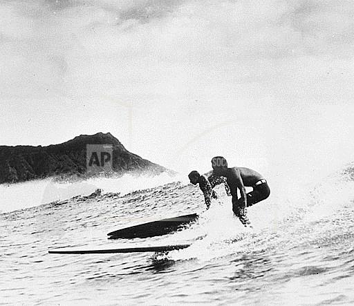 Associated Press Domestic News Hawaii United States HAWAII 1935 SURFING