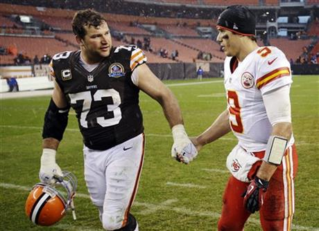 Joe Thomas, Brady Quinn