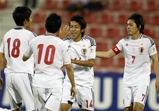 Mideast Iraq Japan World Cup Qualifying soccer