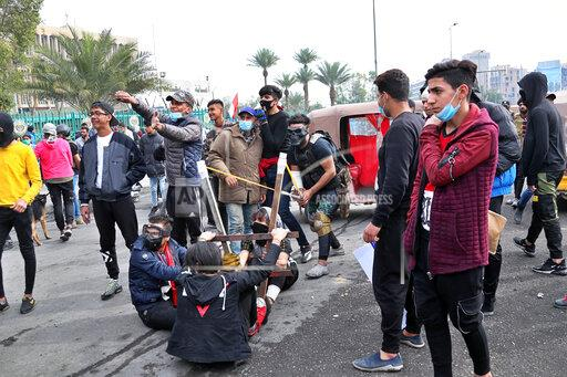 APTOPIX Iraq Protests