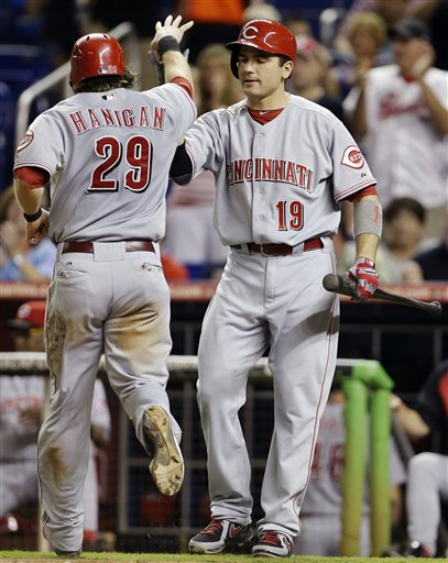 Ryan Hanigan, Joey Votto