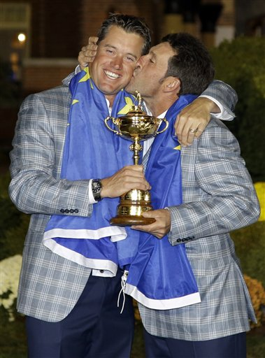 Jose Maria Olazabal, Lee Westwood