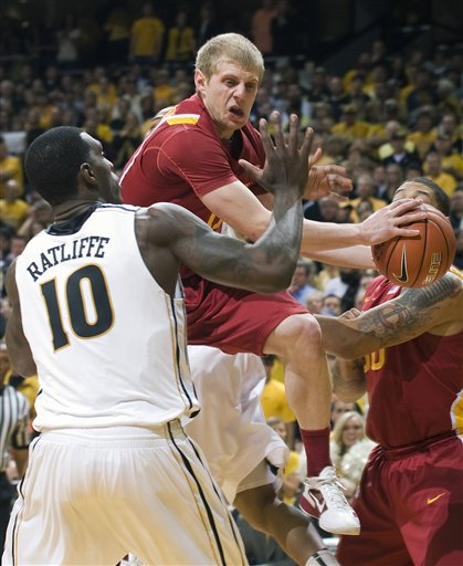 Ricardo Ratliffe, Royce White, Scott Christopherson