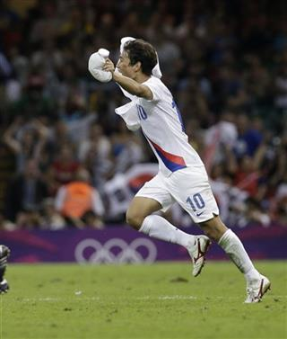 London Olympics Soccer Men
