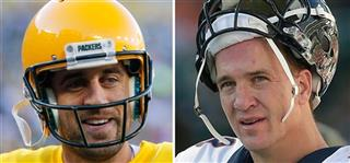 Manning vs Rodgers Football
