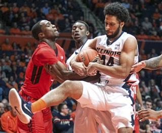 Illinois Rutgers Men's Basketball