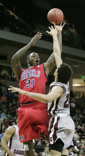 Mississippi South Carolina Basketball