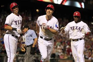 David Murphy,Leonys Martin,Elvis Andrus