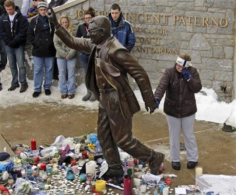 YE Obit Joe Paterno Football