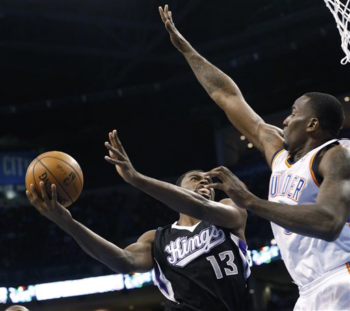 Tyreke Evans, Kendrick Perkins
