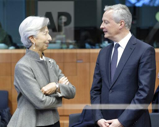 Eurogroup Ministers Meeting - Brussels