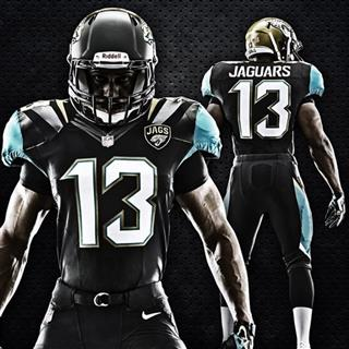 Jaguars New Uniforms Football