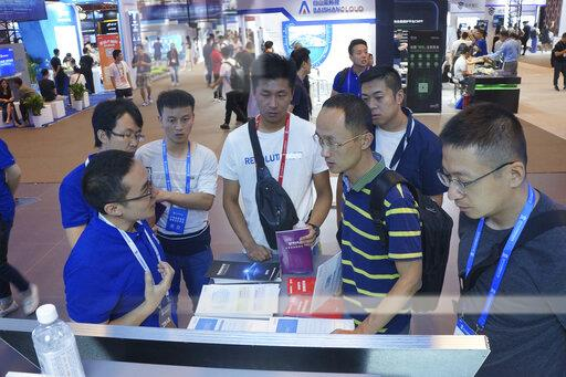 CHINA CHINESE BEIJING 2019 CYBER SECURITY CONFERENCE INTERNET
