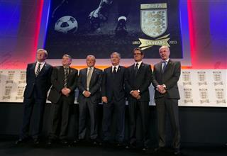 Britain Soccer FA 150 Years