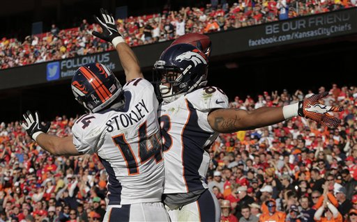 Demaryius Thomas, Brandon Stokley