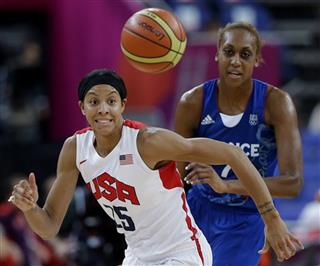 Candace Parker, Sandrine Gruda