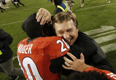 Kirby Smart, Quincy Mauger
