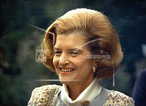 Associated Press Domestic News United States BETTY FORD