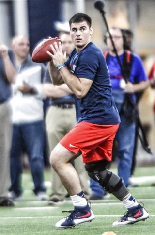 Mississippi Pro Day Football